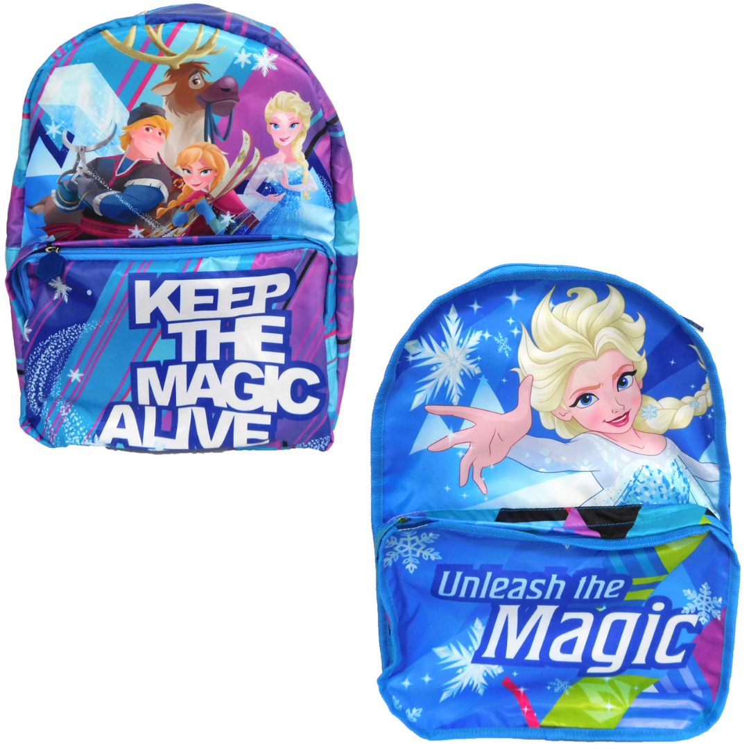 Frozen Unleash the Magic Reversible Backpack -My Baby Excels - India - www.superherotoystore.com