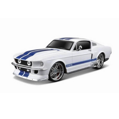 Maisto Design 1:24 Scale 1967 Ford Mustang GT Die-Cast Car by Maisto -Maisto - India - www.superherotoystore.com