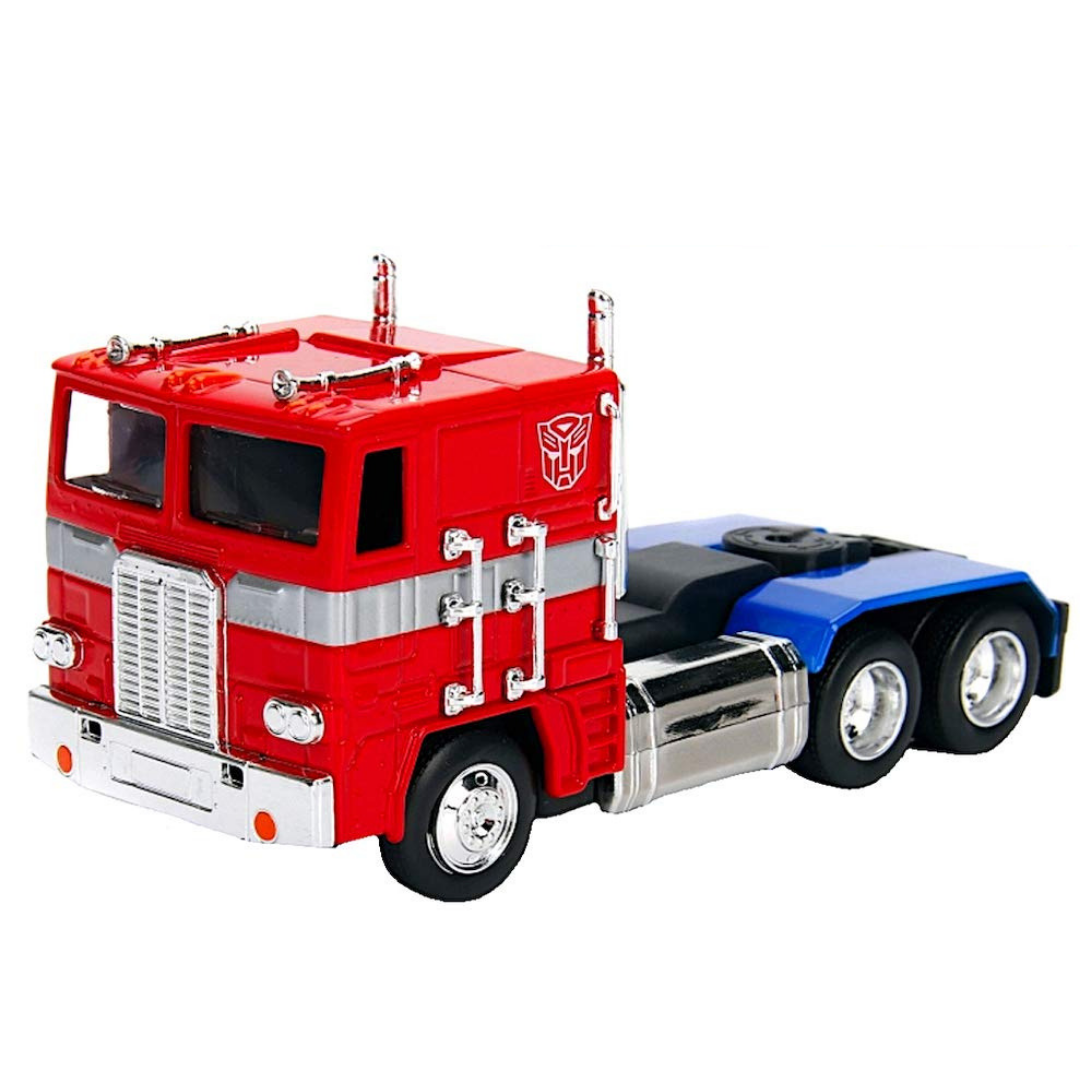 Transformers 1:32 Scale Autobot Optimus Prime Die-Cast Car by Jada Toys