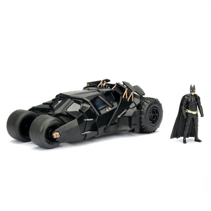 Batman: The Dark Knight Rises: 1:24 Scale Metal Die-cast Batmobile Tumbler by Jada Toys -Jada Toys - India - www.superherotoystore.com