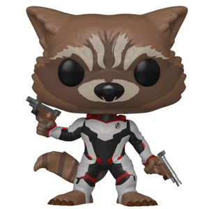 Avengers Endgame Rocket (Team Suit) Vinyl Bobble-Head by Funko