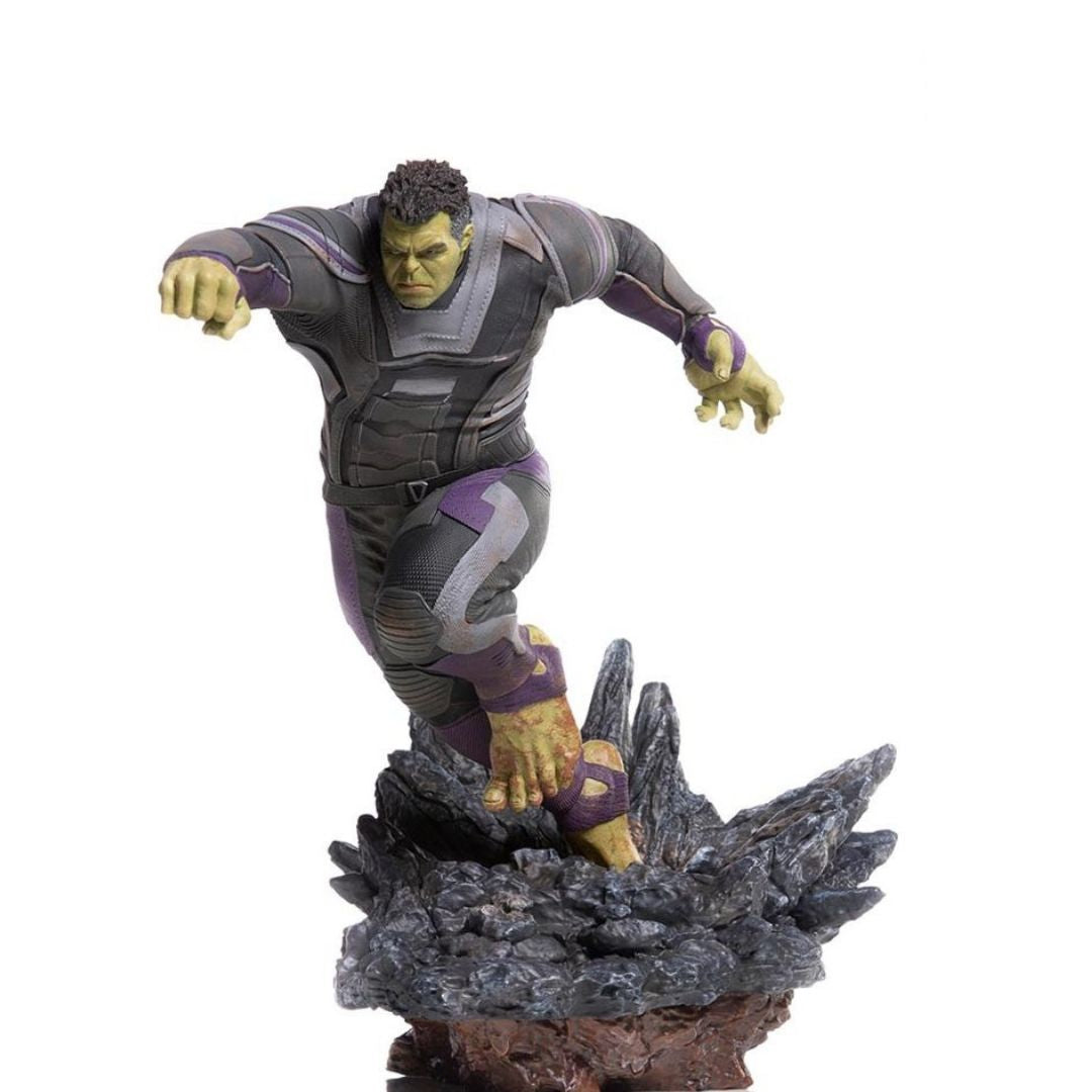 Avengers Endgame Hulk (Deluxe Version) 1:10th Scale Statue by Iron Studios -Iron Studios - India - www.superherotoystore.com
