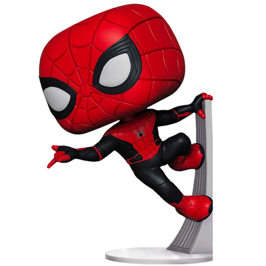Spiderman Far From Home Upgraded Suit Spiderman Vinyl Bobble-Head by Funko