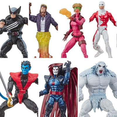 X-Force Marvel Legends Series (Wendigo BAF) Set of 6 Figures by Hasbro