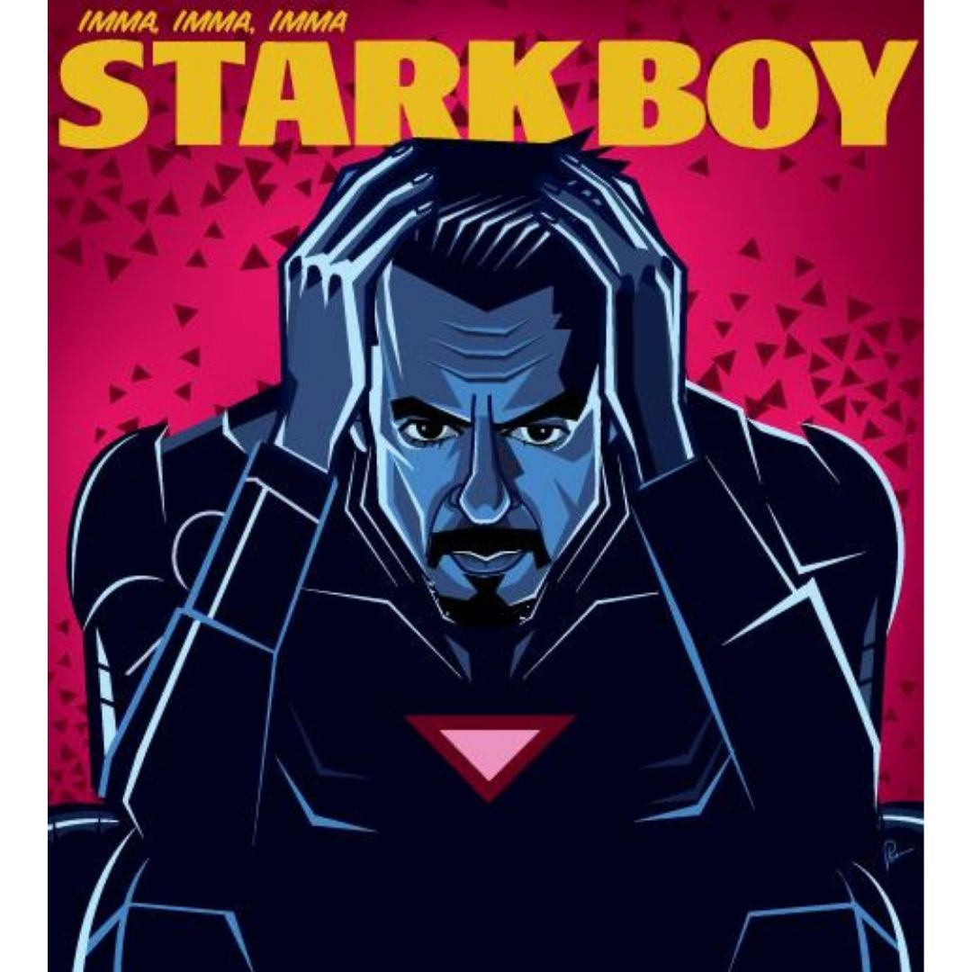 I'm A Stark Boy Wall Art by Graphicurry -Graphicurry - India - www.superherotoystore.com