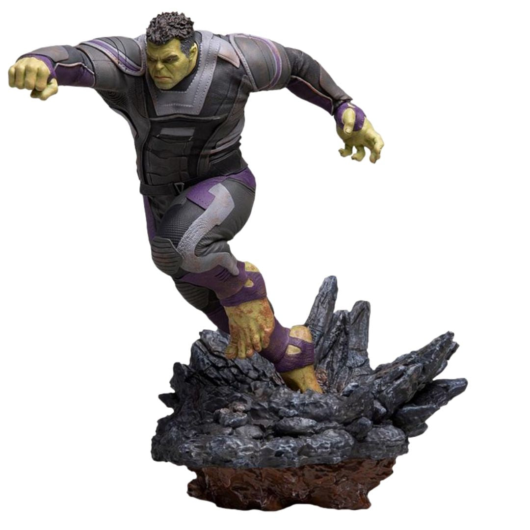 Avengers Endgame Hulk (Regular Version) 1:10th Scale Statue by Iron Studios