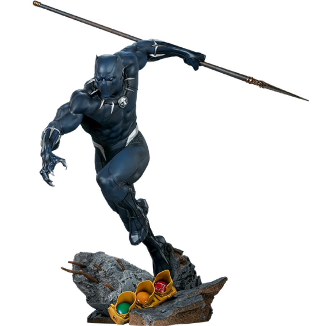 Avengers Assemble: Black Panther Statue by Sideshow Collectibles