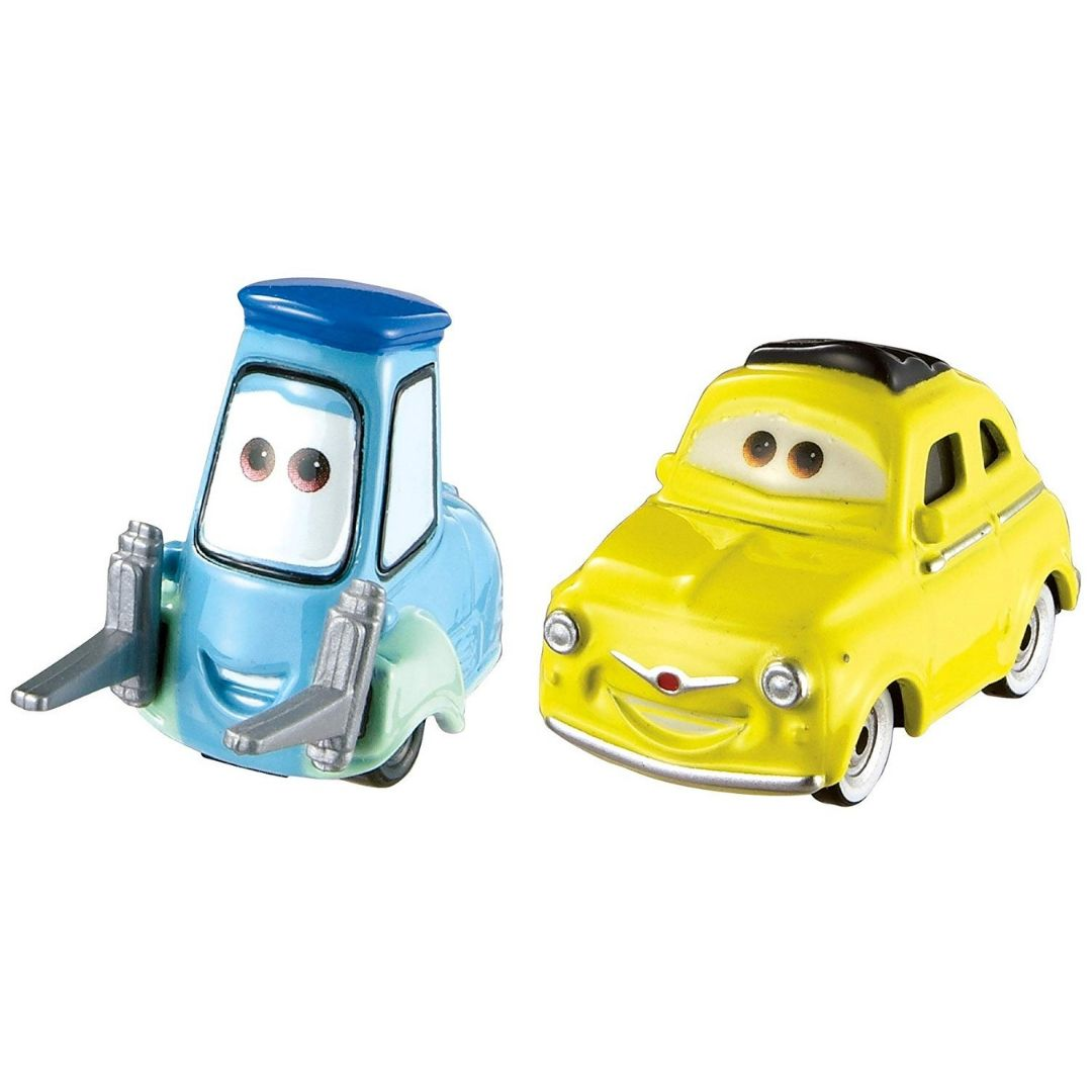 Disney Cars 3 Loigi & Guido 1:55 Scale Die-Cast Car by Mattel