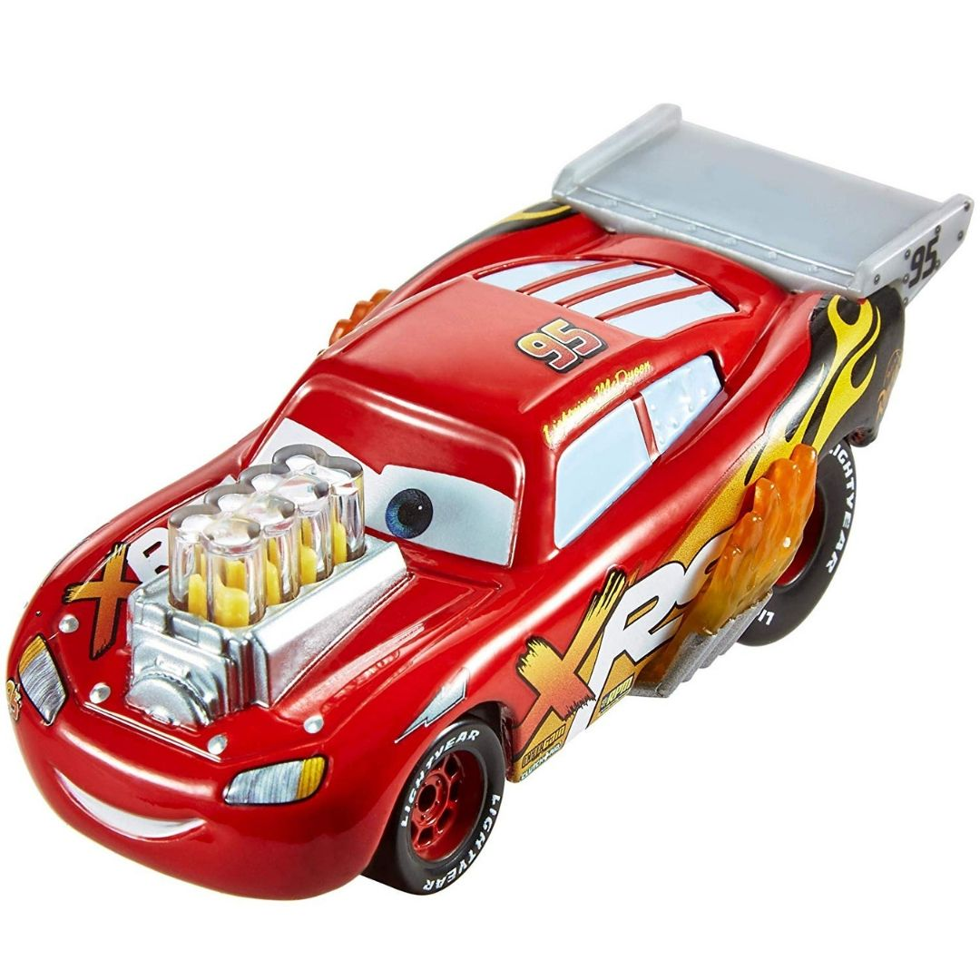 Disney Pixar Cars Drag Racing Lightning McQueen Die-Cast Car by Mattel
