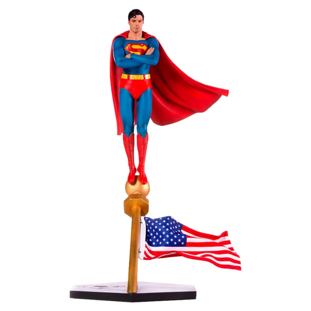 Superman The 1978 Movie Superman 1:10th Art Scale Statue by Iron Studios