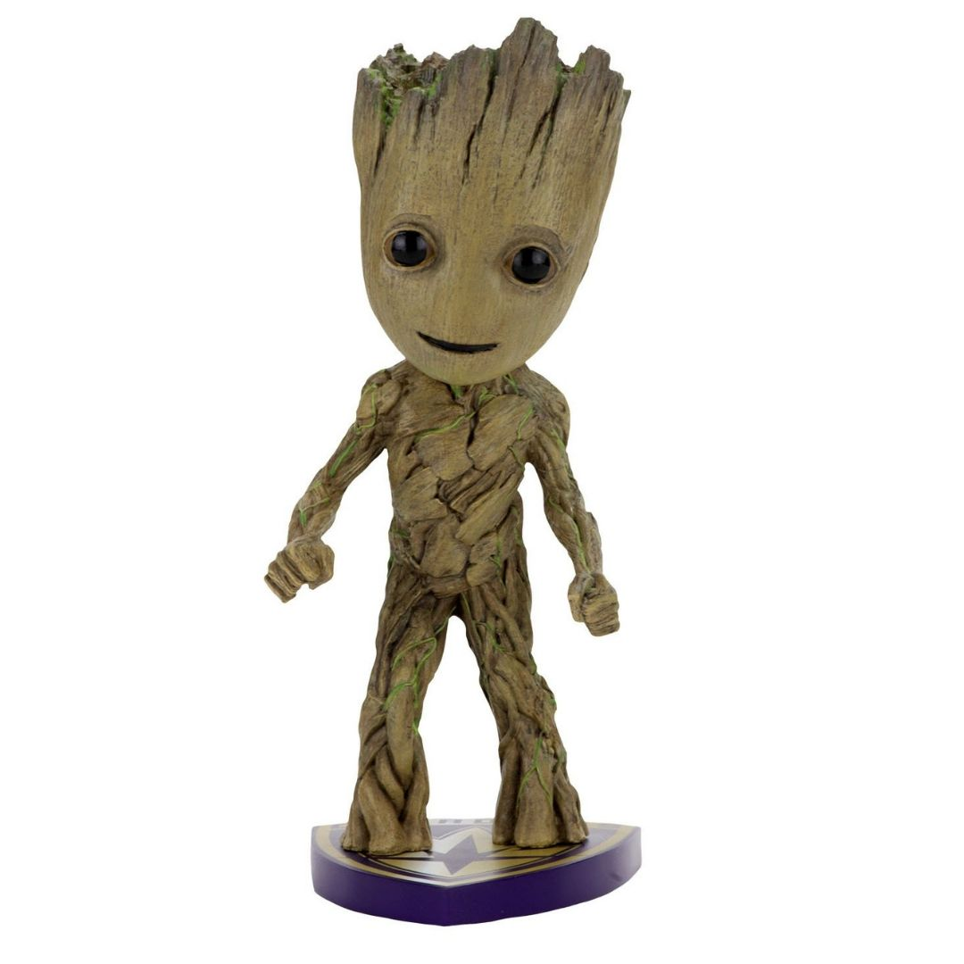 Guardians of The Galaxy 2: Baby Groot Head Knocker by Neca -NECA - India - www.superherotoystore.com