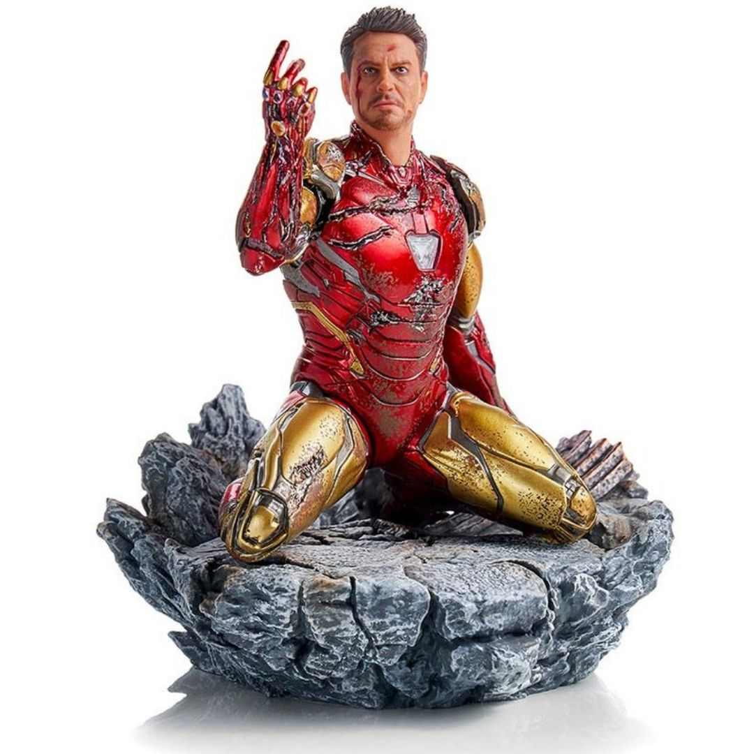 Avengers Endgame I am Iron Man 1:10th Scale by Iron Studios