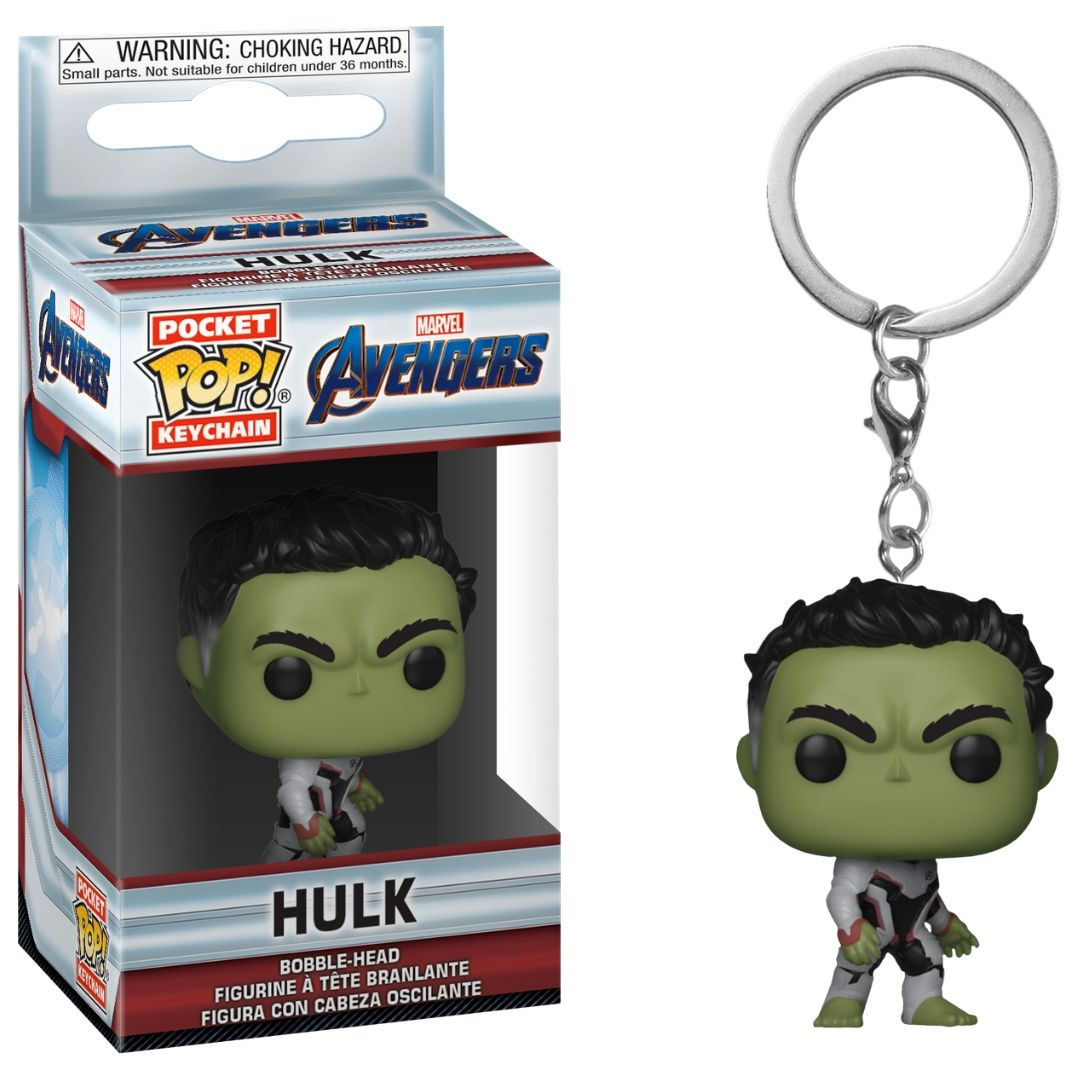 Avengers Endgame: Hulk Pocket Pop! Vinyl Keychain by Funko