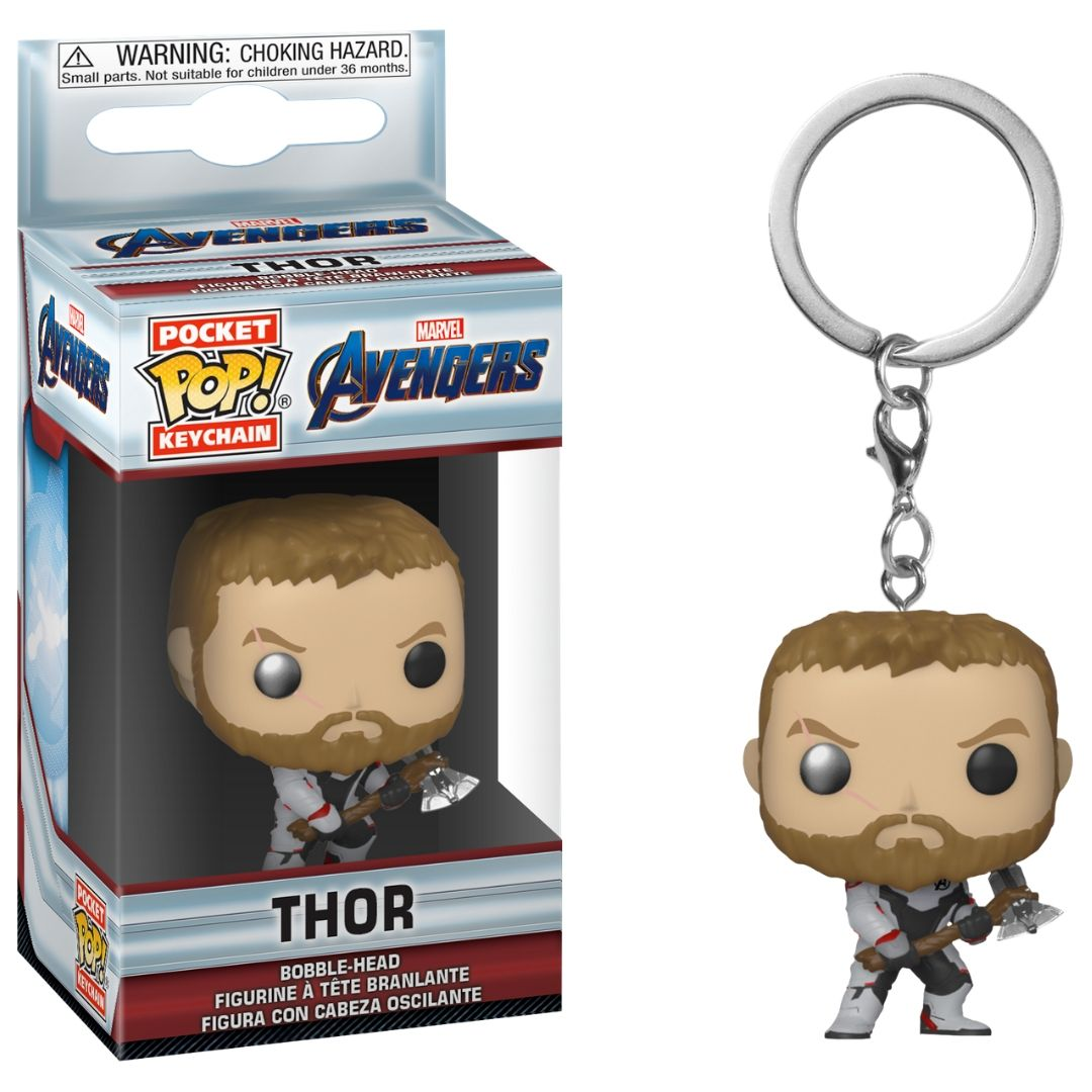Avengers Endgame: Thor Pocket Pop! Vinyl Keychain by Funko
