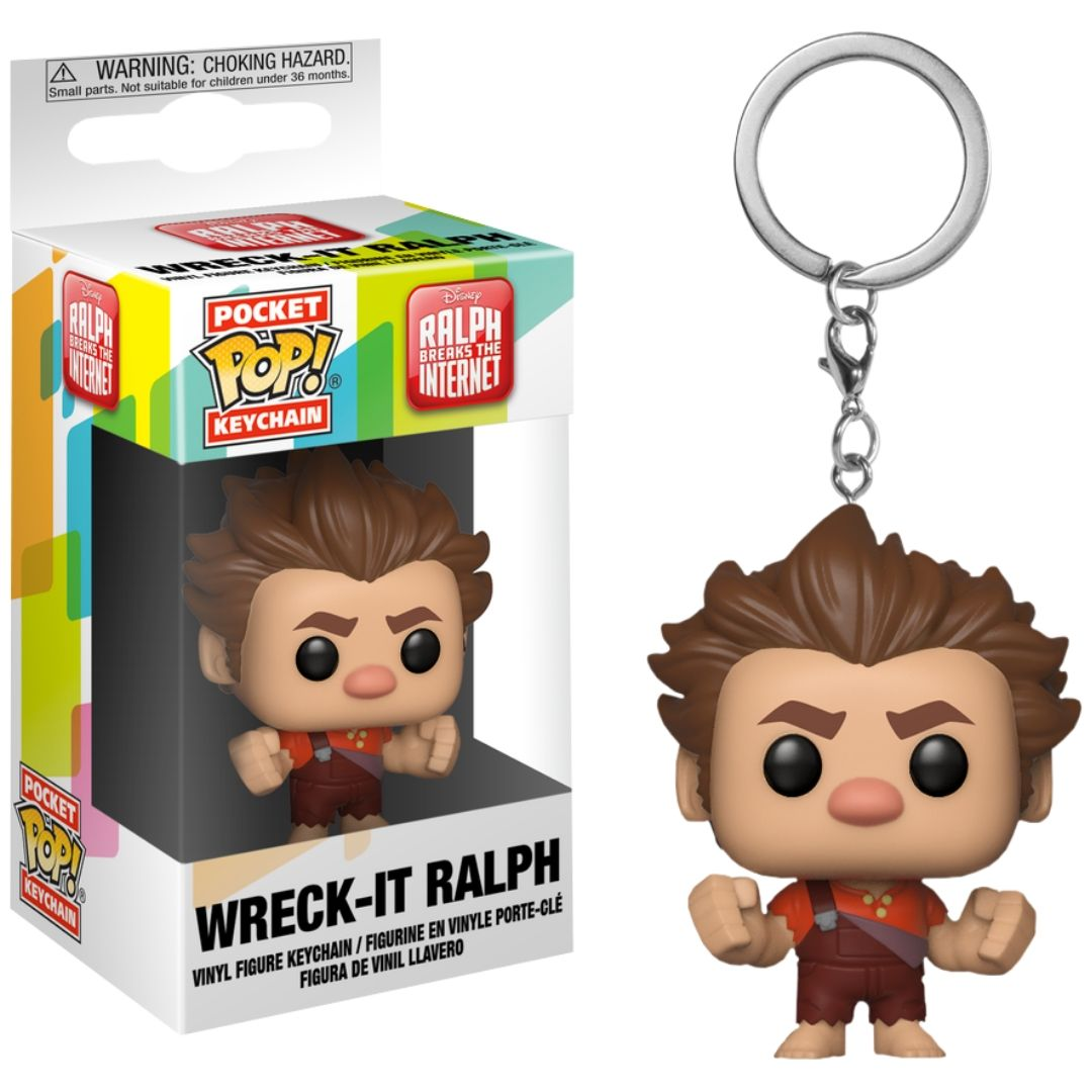 Disney's Ralph Break The Internet - Wreck-It Ralph Pocket Pop! Vinyl Keychain by Funko