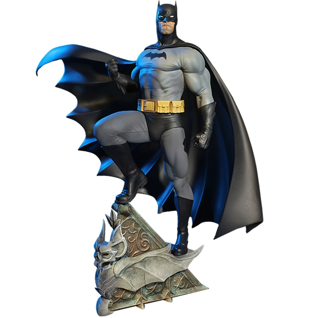 Super Powers Collection : Batman Maquette Black & Grey 1/5th Scale Statue by Tweeterhead -Tweeterhead - India - www.superherotoystore.com