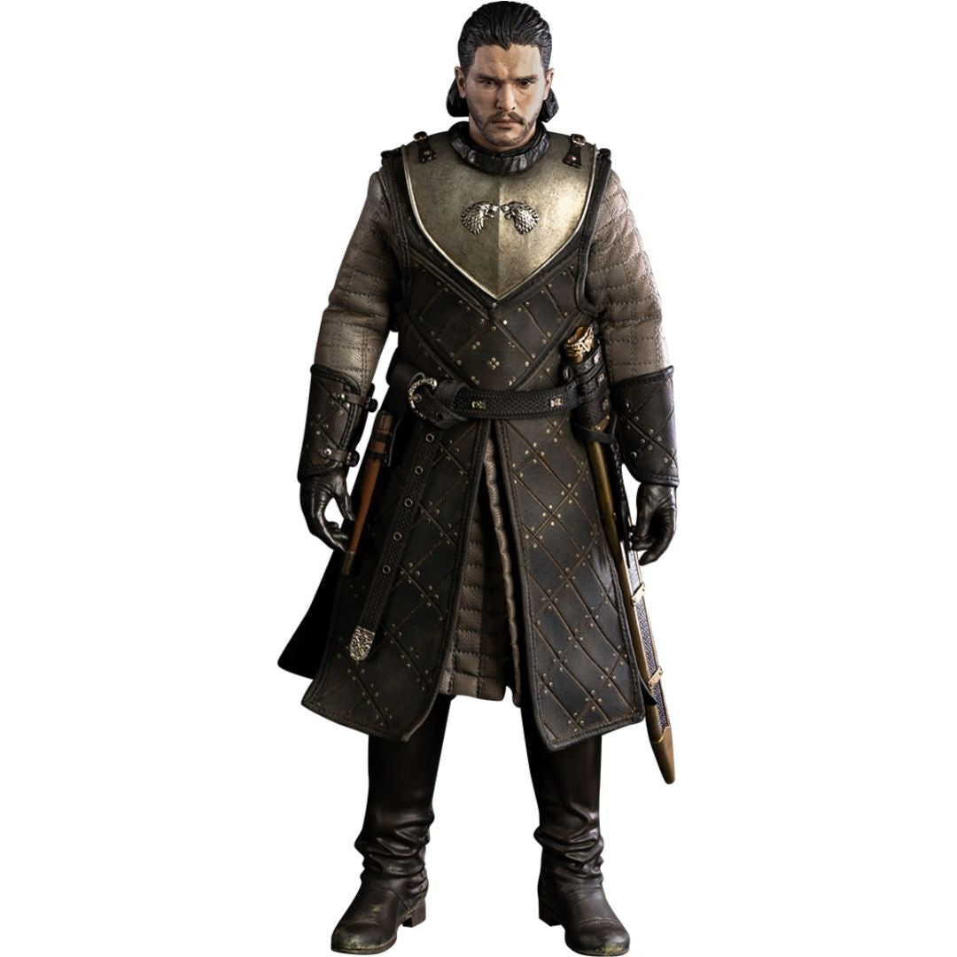 Game of Thrones Season 8: Jon Snow 1:6 Scale Action Figure by ThreeZero -ThreeZero - India - www.superherotoystore.com