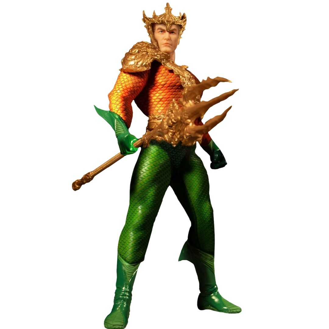 Aquaman Classic Comic Version One:12 Collective Action Figure by Mezco Toys