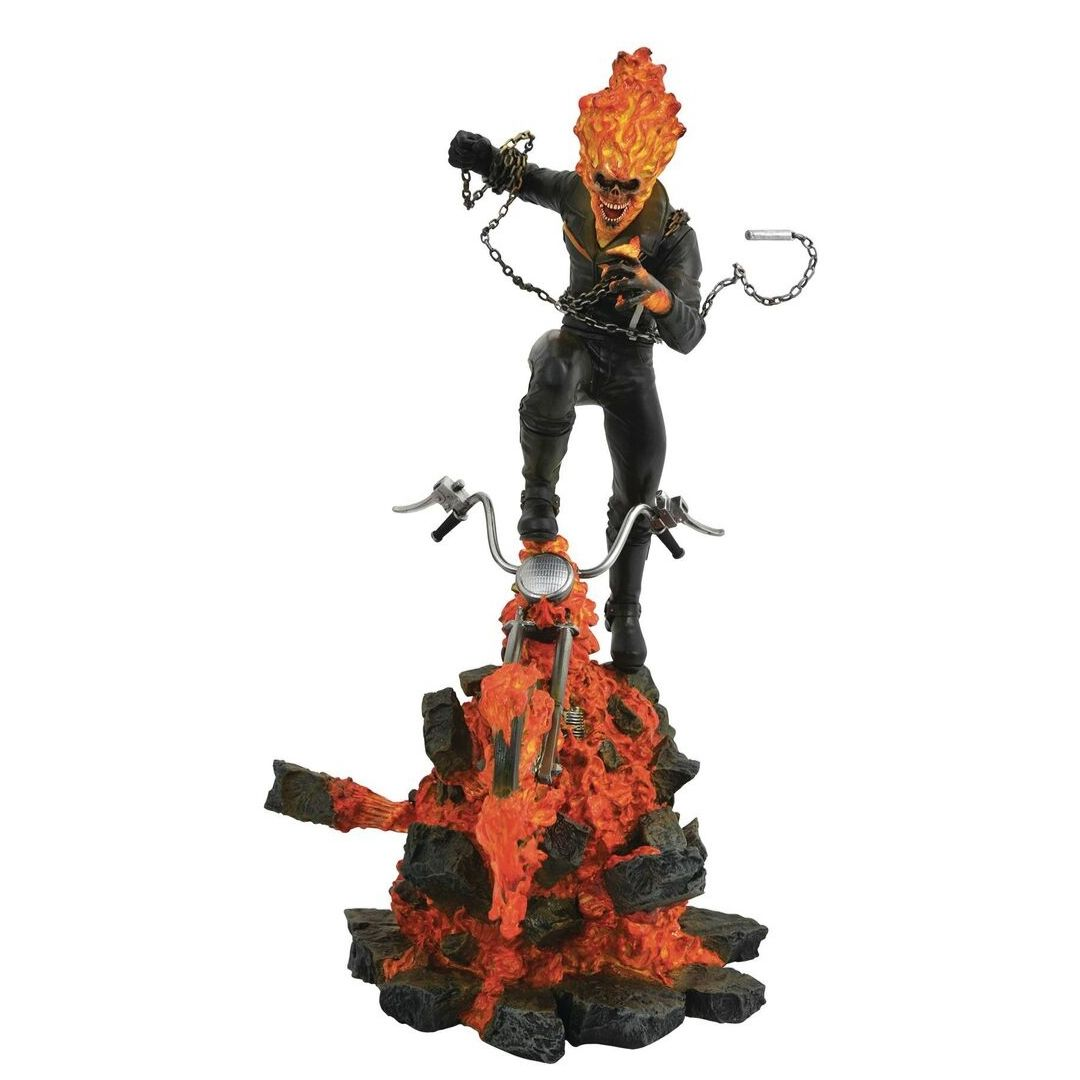 Marvel Milestones Ghost Rider statue by Diamond Select Toys