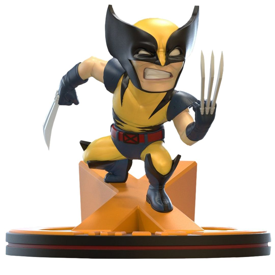 Marvel 80th Anniversary X-Men Wolverine Q-Fig by Quantum Mechanix -Quantum Mechanix - India - www.superherotoystore.com