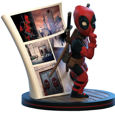 Deadpool 4D Diorama Q-Fig by Quantum Mechanix -Quantum Mechanix - India - www.superherotoystore.com