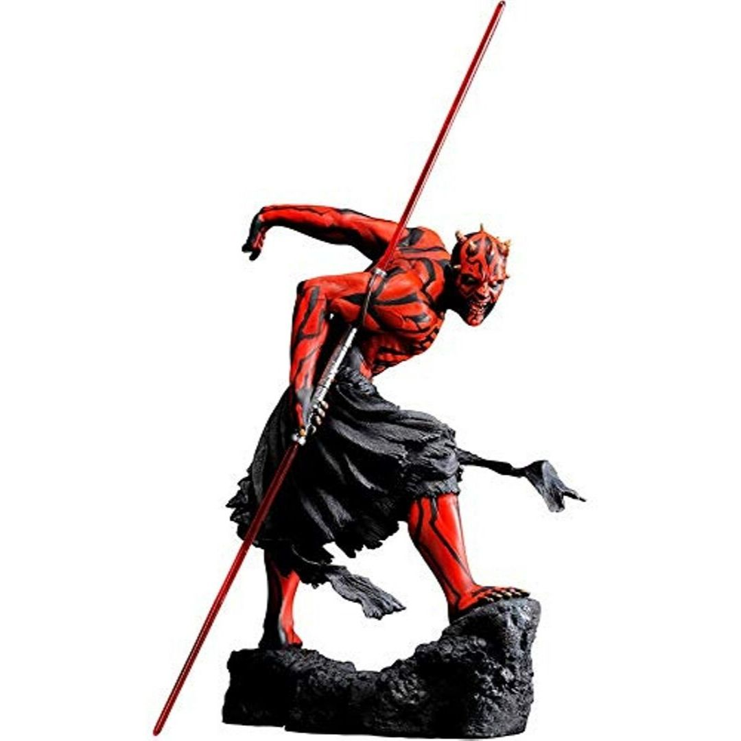 Star Wars Darth Maul Ukiyo-E ARTFX Light-Up Statue (Re Run) by Kotobukiya -Kotobukiya - India - www.superherotoystore.com
