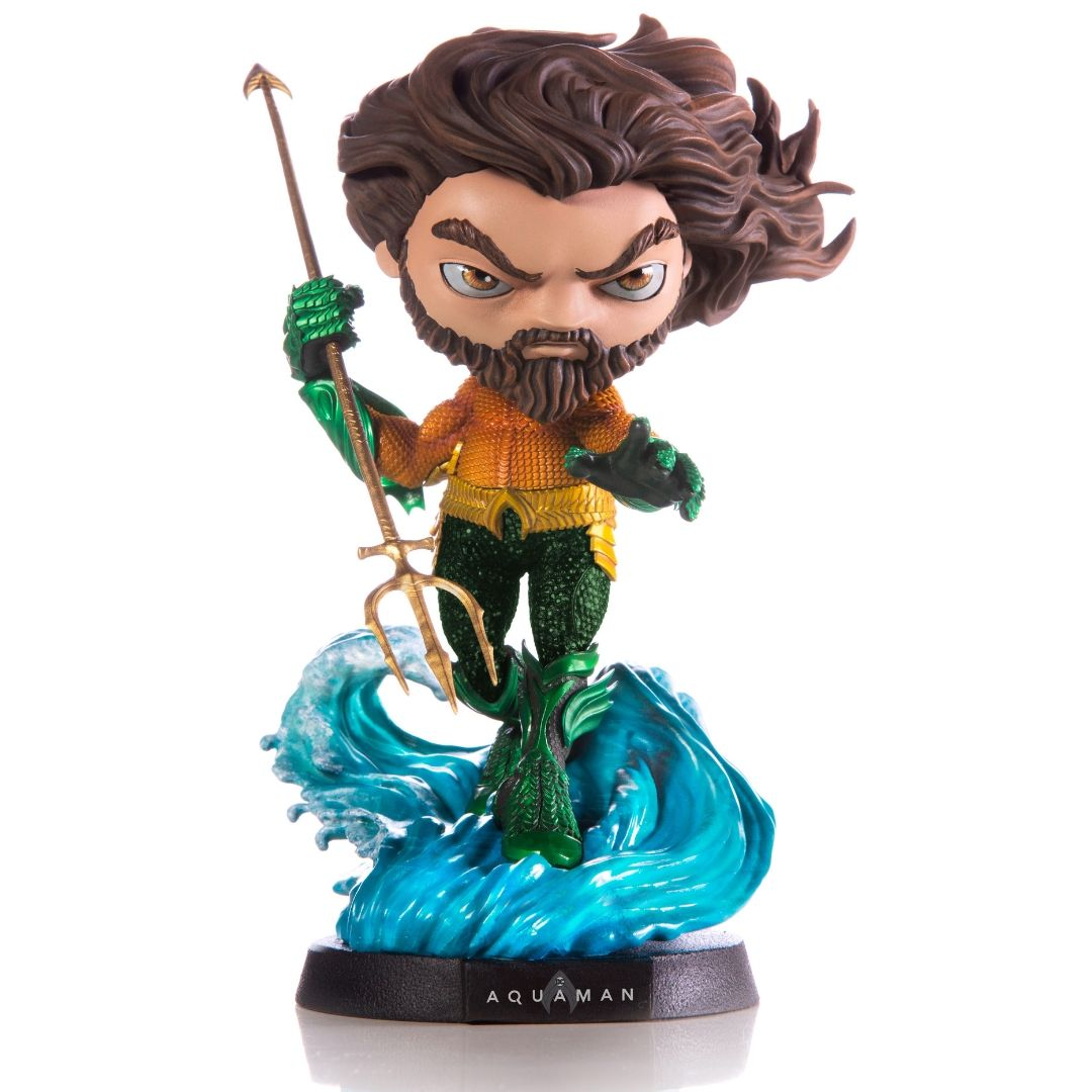 Aquaman Movie Aquaman MiniCo Figure by Iron Studios -MiniCo - India - www.superherotoystore.com