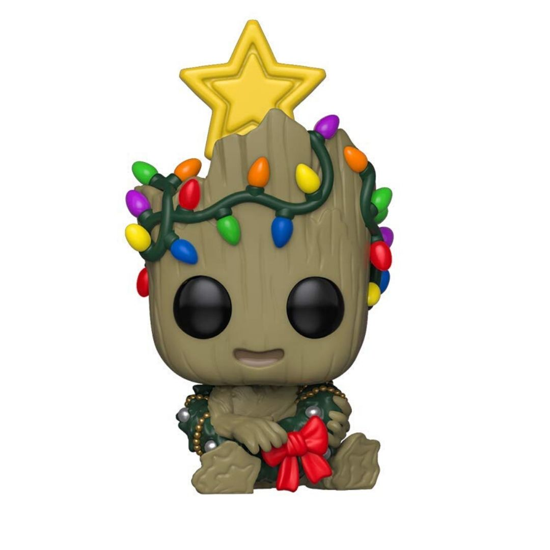 Guardians Of The Galaxy - Holiday Groot Vinyl Bobble-Head by Funko
