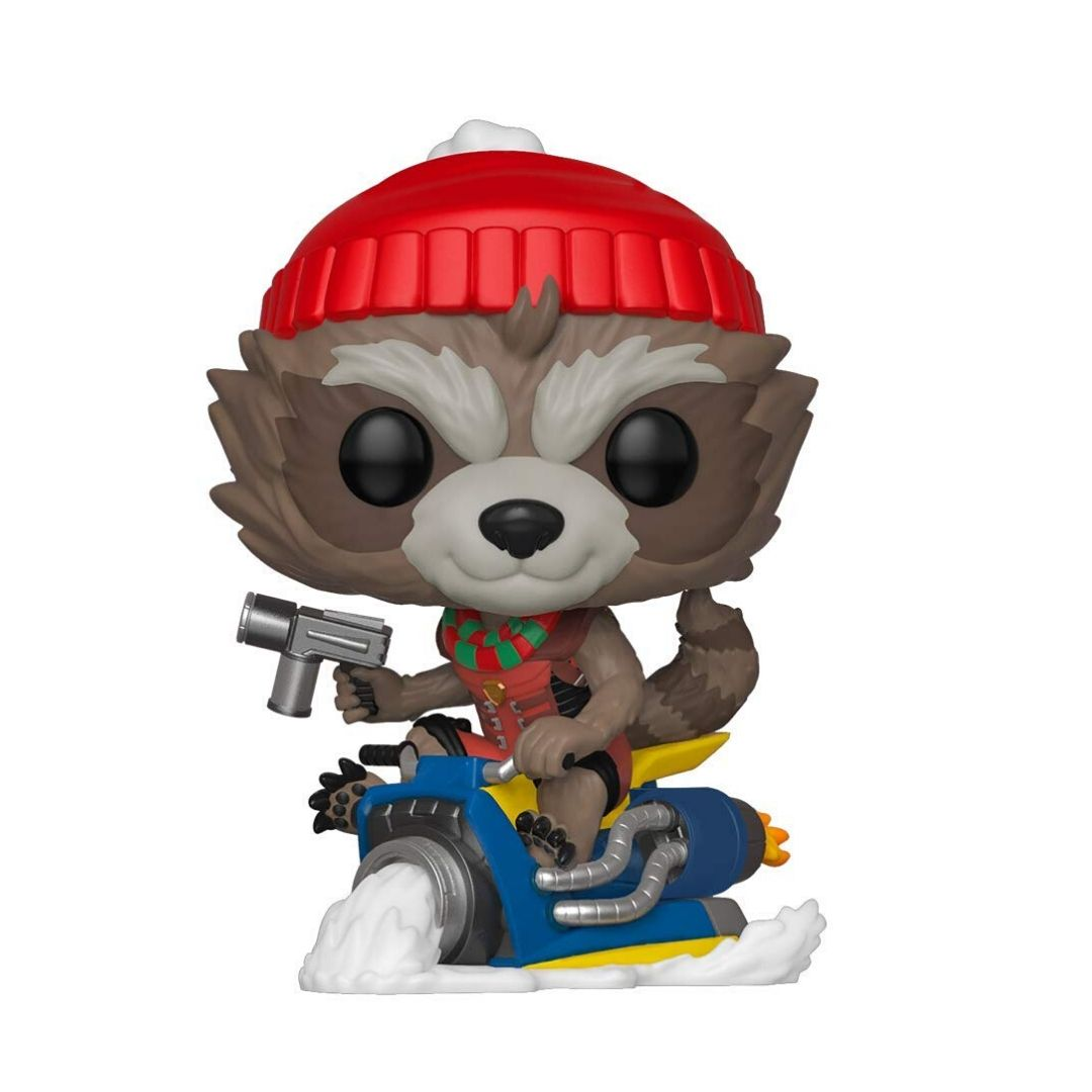 Guardians Of The Galaxy - Holiday Rocket Vinyl Bobble-Head by Funko