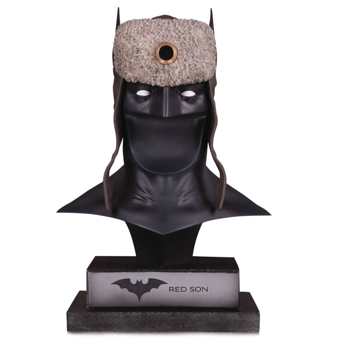 DC Gallery Red Son Batman Cowl Statue by DC Collectibles -DC Collectibles - India - www.superherotoystore.com