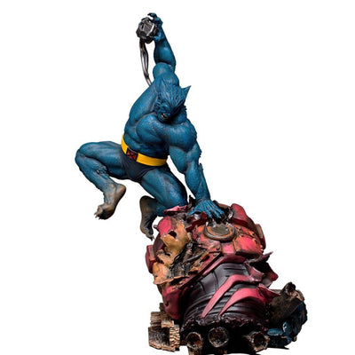 X-Men Beast 1:10th Scale Statue by Iron Studios