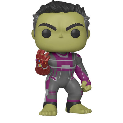 Avengers Endgame Hulk With Gauntlet (6-Inch) Vinyl Bobble-Head by Funko -Funko - India - www.superherotoystore.com