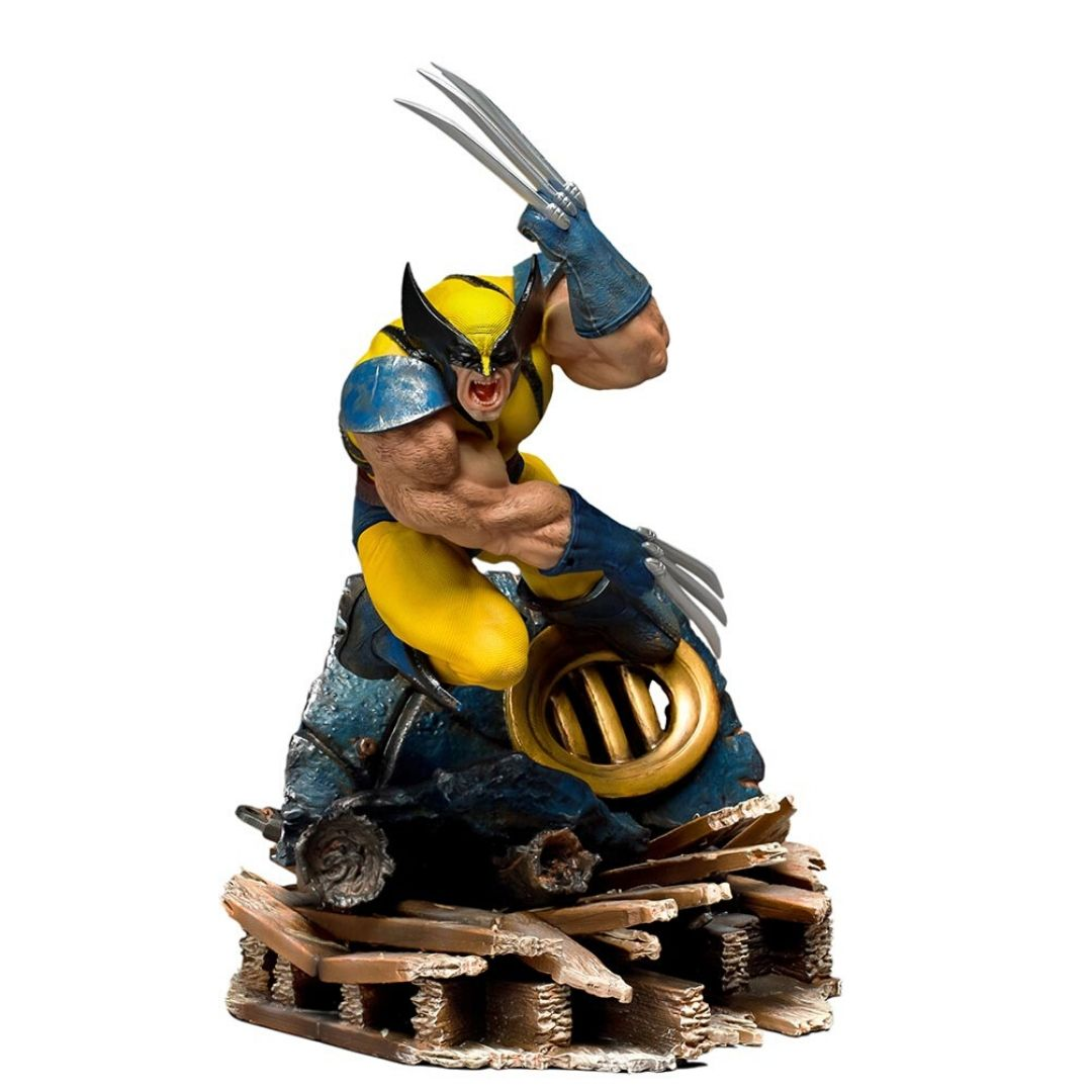 X-Men Wolverine 1:10th Scale Statue by Iron Studios -Iron Studios - India - www.superherotoystore.com