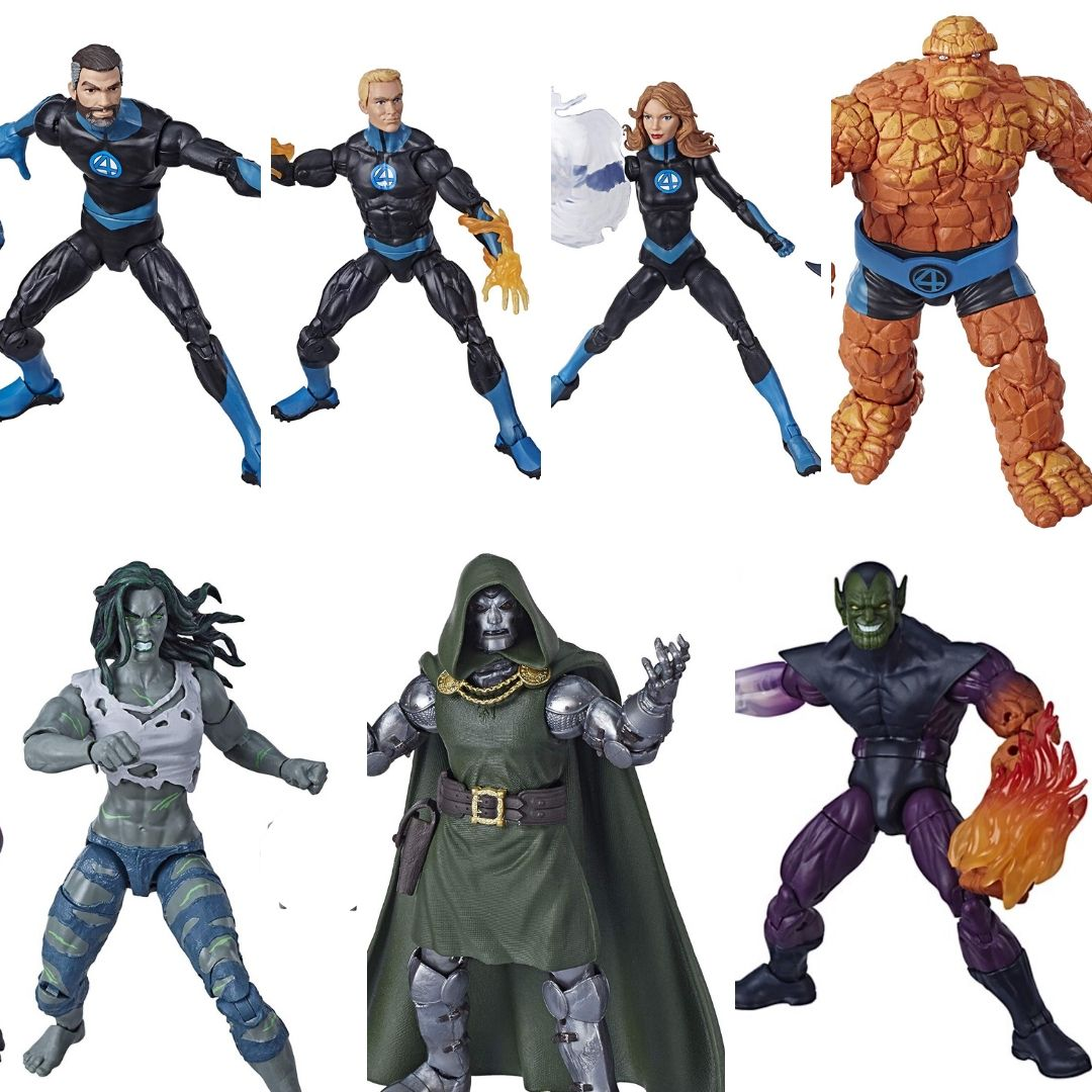 Fantastic Four Marvel Legends Super Skrull BAF by Hasbro -Hasbro - India - www.superherotoystore.com