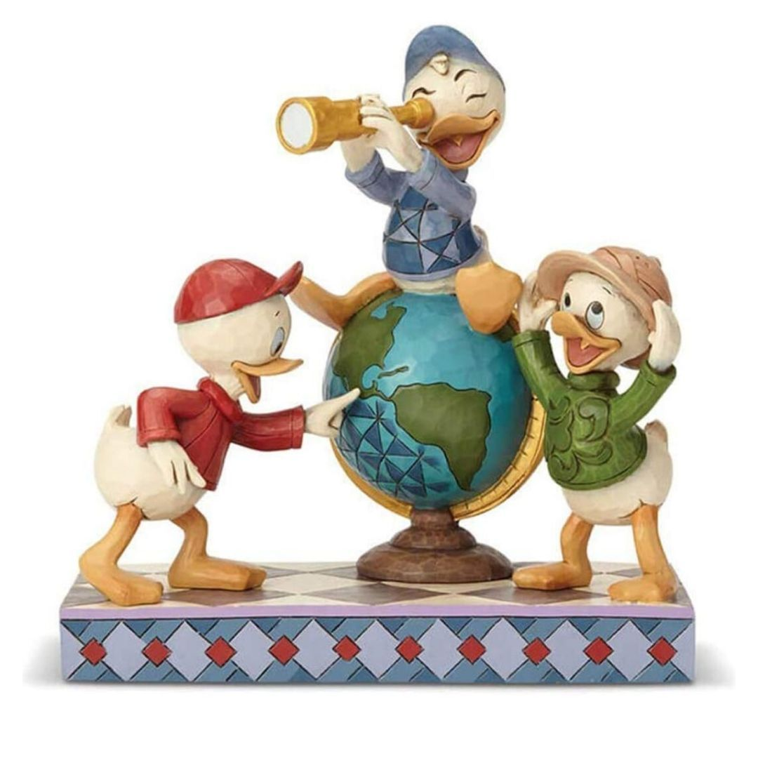 Disney Duck Tales Huey, Dewey & Louie Figure by Enesco -Enesco - India - www.superherotoystore.com