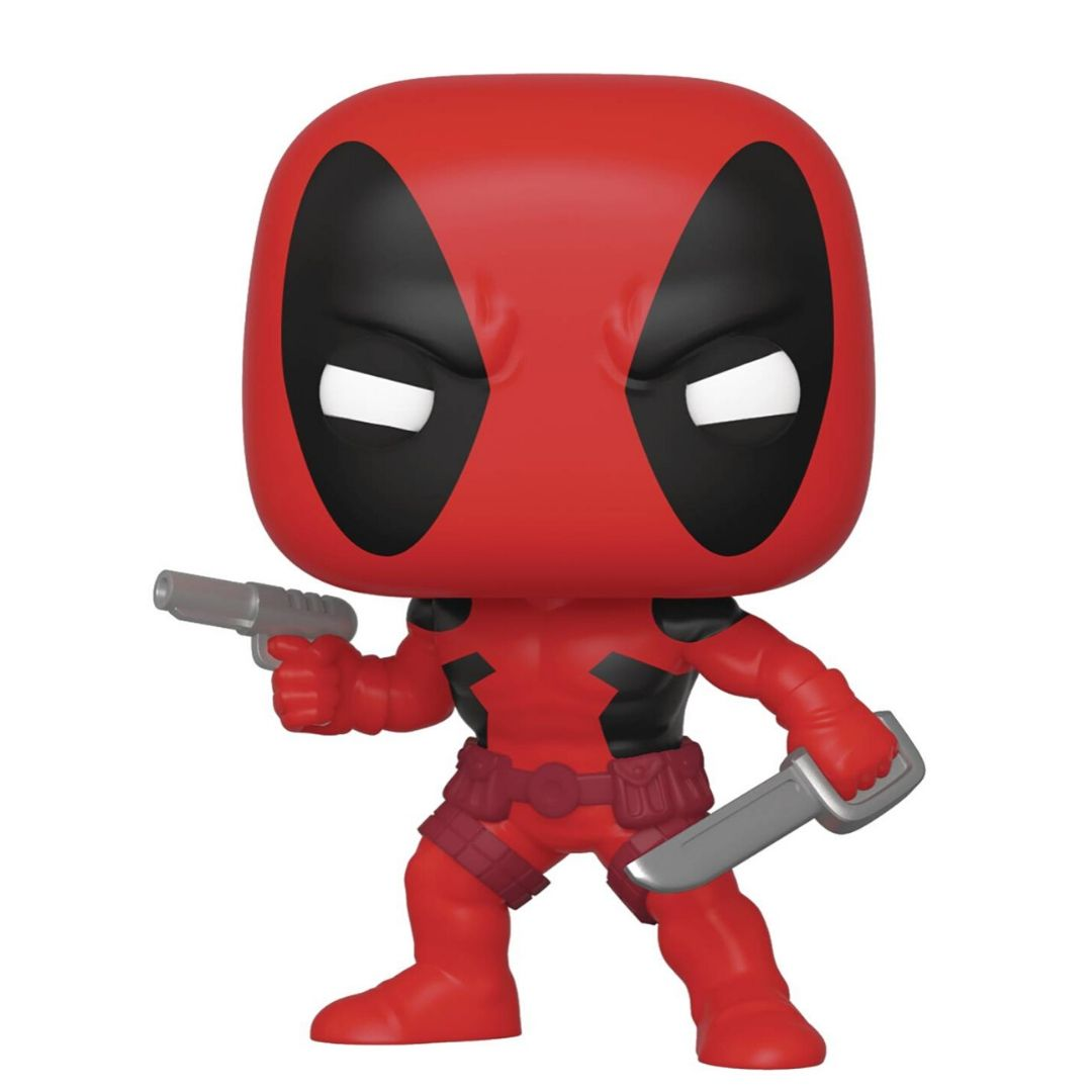 Marvel 80th Anniversary Deadpool Vinyl Bobble-Head by Funko -Funko - India - www.superherotoystore.com