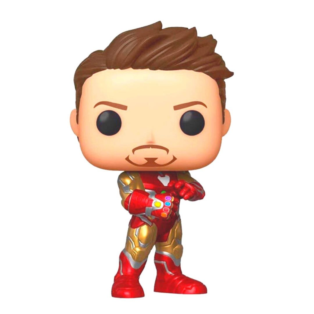 NYCC 2019 Avengers Endgame Iron Man with Nano Gauntlet Vinyl Bobble-Head by Funko