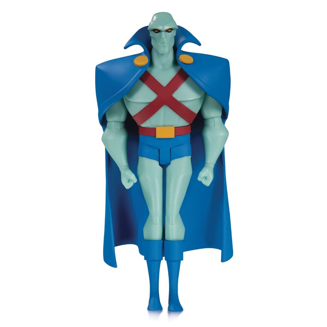 Justice League Animated Series Martian Manhunter Figure by DC Collectibles