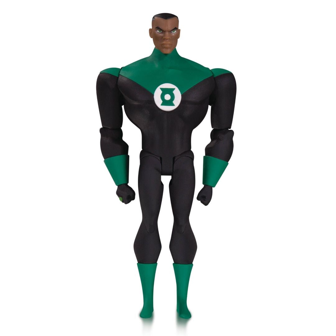 Justice League Animated Series John Stewart Green Lantern Figure by DC Collectibles