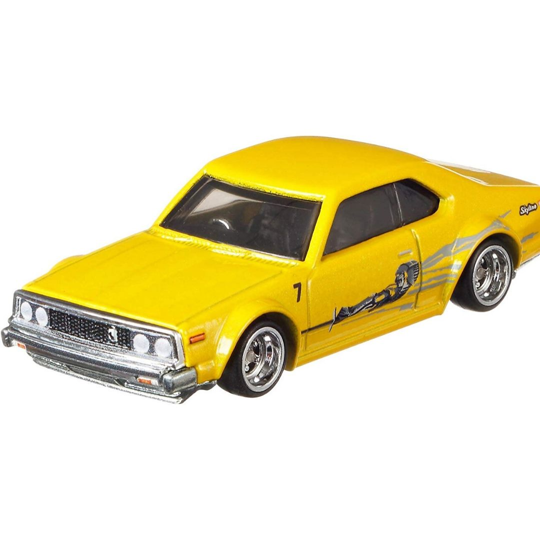 Fast & Furious Rewind Series 1:64 Scale Nissan Skyline C210 Die-Cast Car by Hot Wheels