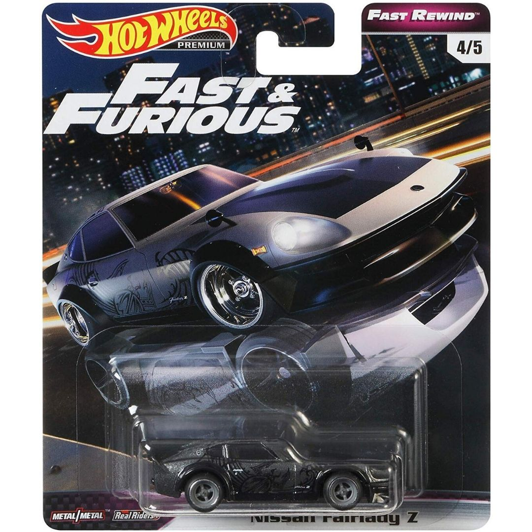 Fast & Furious Rewind Series 1:64 Scale Nissan Fairlady Z Die-Cast Car by Hot Wheels