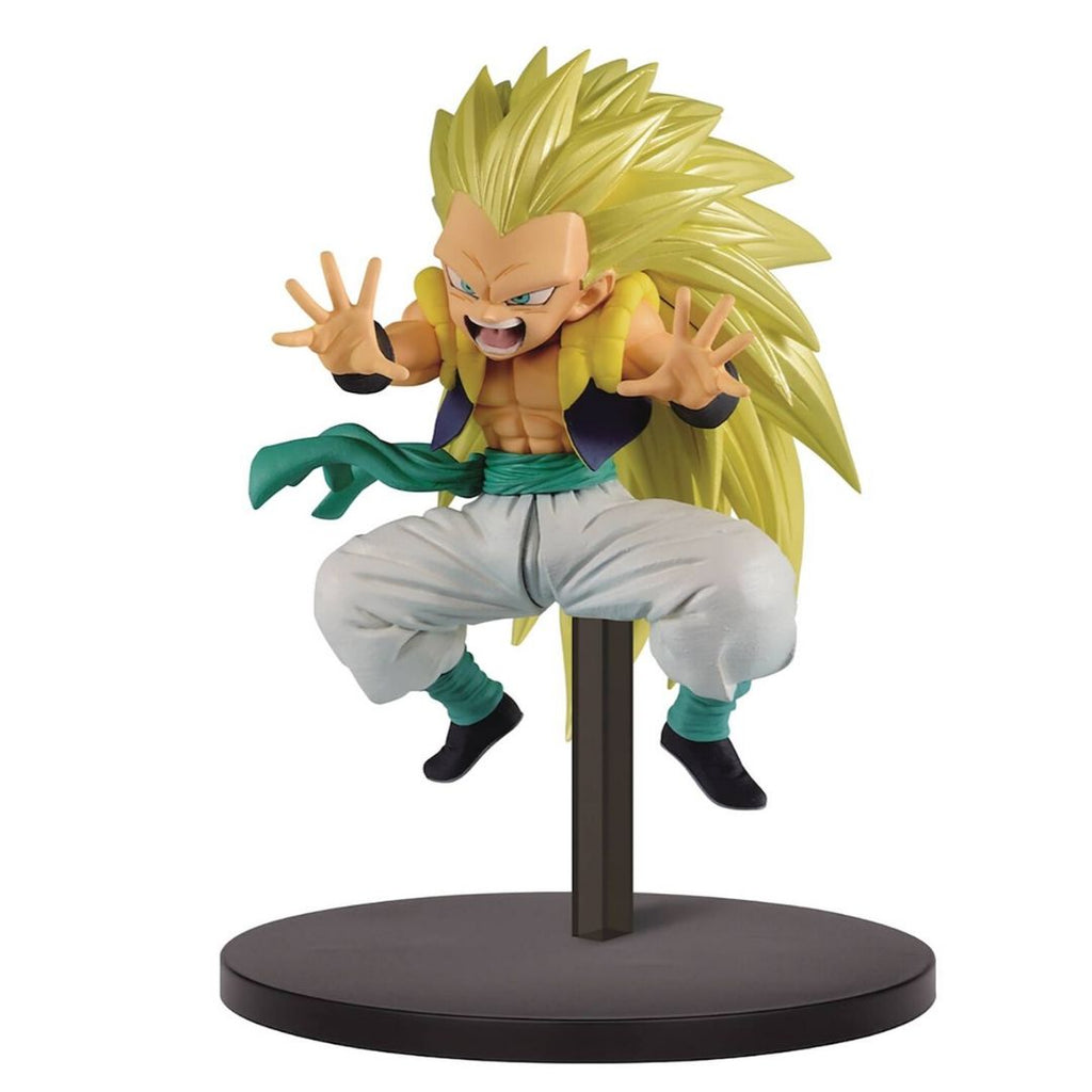 Dragon Ball Super Chosenshiretsuden Volume 2 Super Saiyan 3 Gotenks Statue by Banpresto -Banpresto - India - www.superherotoystore.com