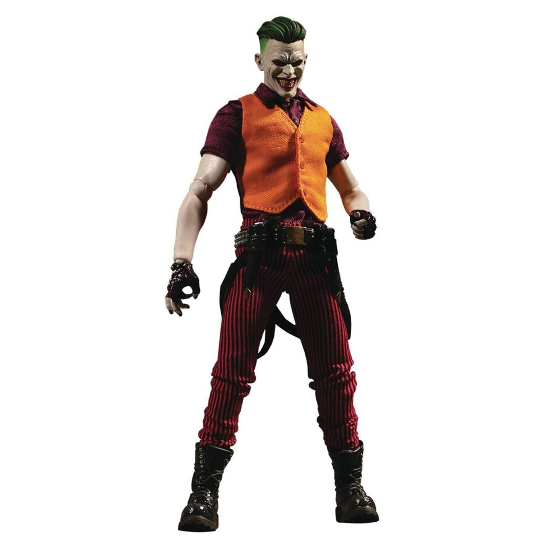 The Joker Prince Of Crime One:12 Collectible Figure by Mezco Toys -Mezco Toys - India - www.superherotoystore.com