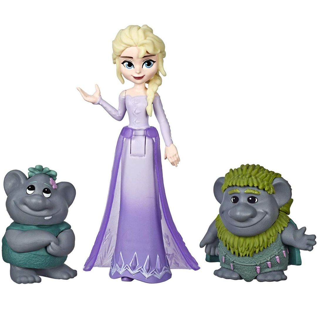 Disney Frozen 2 Elsa with Troll Figure Set by Hasbro -Hasbro - India - www.superherotoystore.com