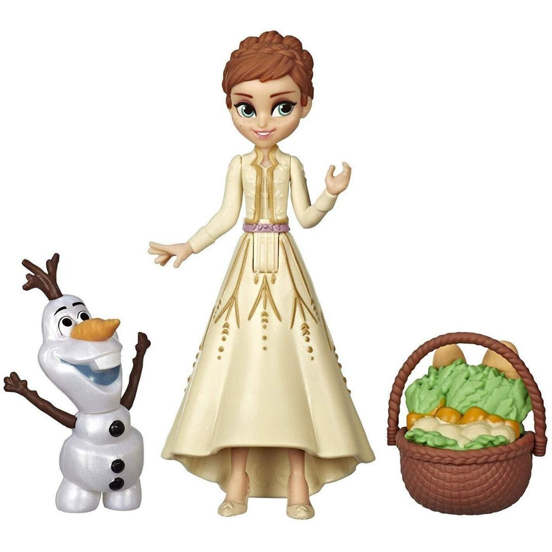 Disney Frozen 2 Anna with Olaf Figure Set by Hasbro -Hasbro - India - www.superherotoystore.com
