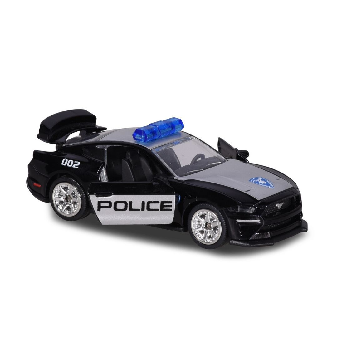 Deluxe Cars Ford Mustang GT Police Die-Cast Car by Majorette -Majorette - India - www.superherotoystore.com