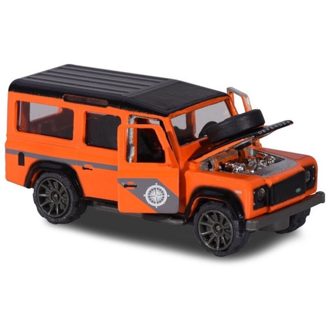 Deluxe Cars Land Rover Defender 110 Die-Cast Car by Majorette -Majorette - India - www.superherotoystore.com