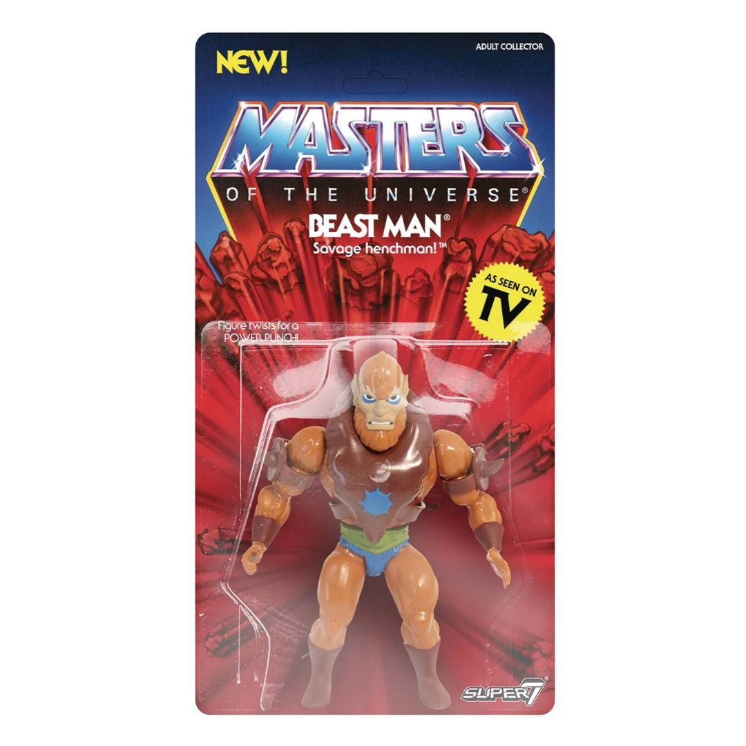 Masters of The Universe Beast Man Figure by Super7