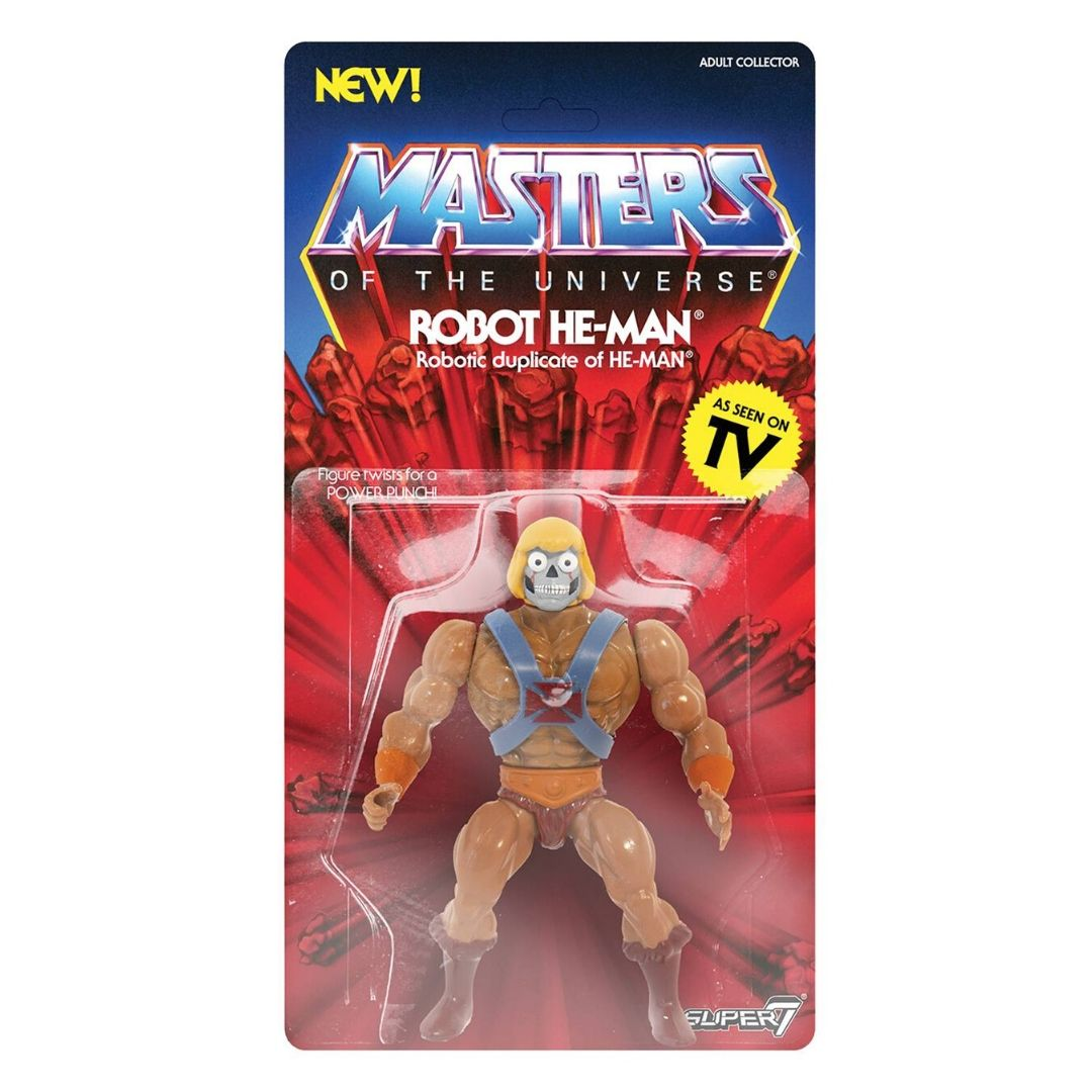 Masters of the Universe - Robot He-Man Figure by Super7 -Super7 - India - www.superherotoystore.com
