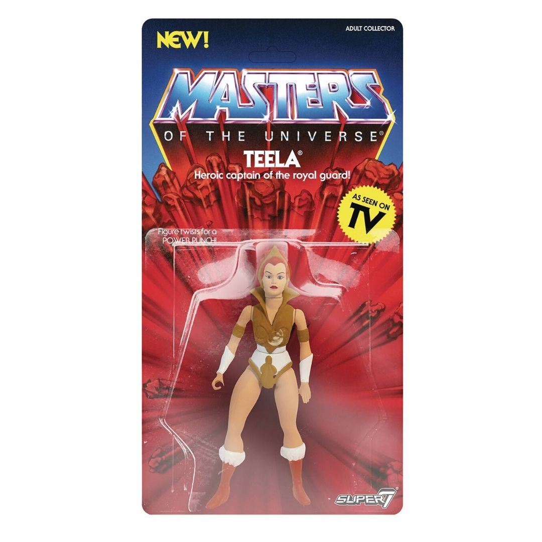 Masters of the Universe Teela Figure by Super7 -Super7 - India - www.superherotoystore.com